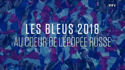 Les Bleus 2018 Au Coeur De L'Epopee Russe FRENCH WEBRIP 720p 2018