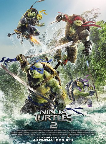 Ninja Turtles 2 FRENCH DVDRIP 2016