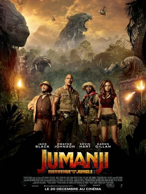 Jumanji 2 : Bienvenue Dans La Jungle FRENCH DVDRIP 2018