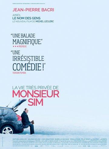 La Vie très privée de Monsieur Sim FRENCH BluRay 720p 2016