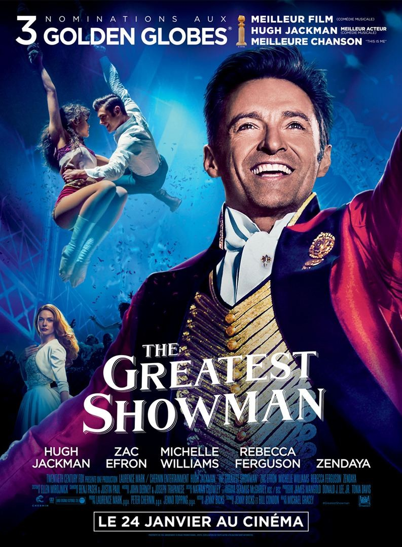 The Greatest Showman FRENCH DVDRIP x264 2018