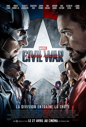 Captain America: Civil War FRENCH BluRay 1080p 2016