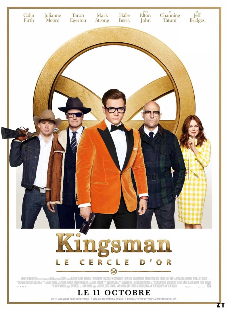 Kingsman : Le Cercle d'or FRENCH BluRay 720p 2017