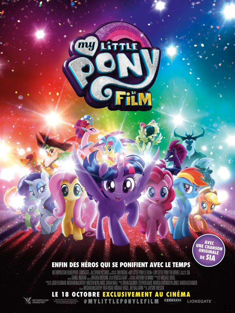 My Little Pony : le film FRENCH DVDRIP 2017