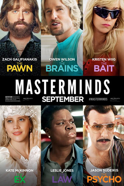 Les Cerveaux (Masterminds) FRENCH DVDRIP 2017