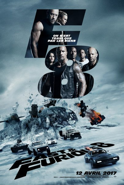 Fast & Furious 8 FRENCH DVDRIP x264 2017