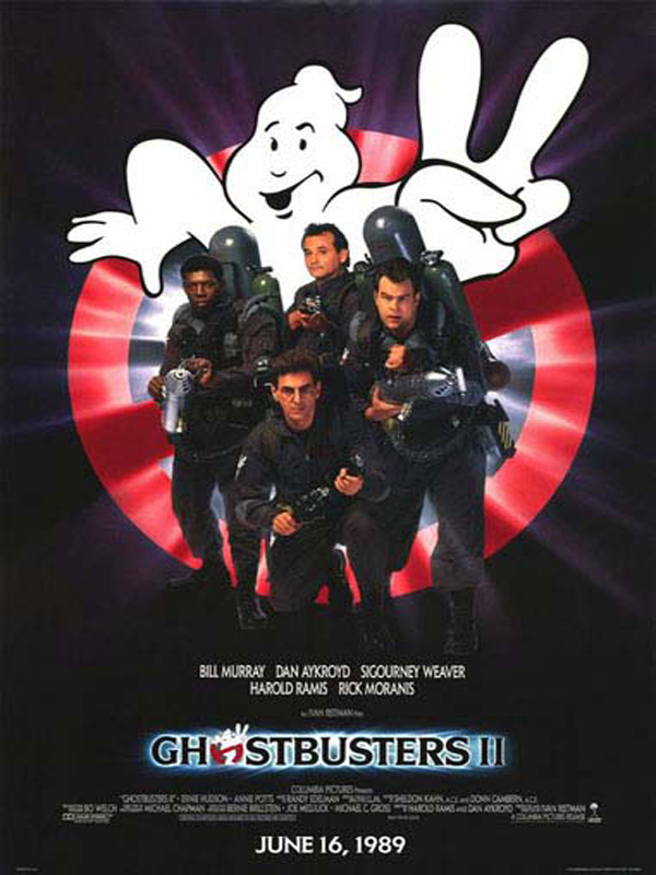 S.O.S Fantômes 2 (Ghostbusters II) FRENCH DVDRIP 1989