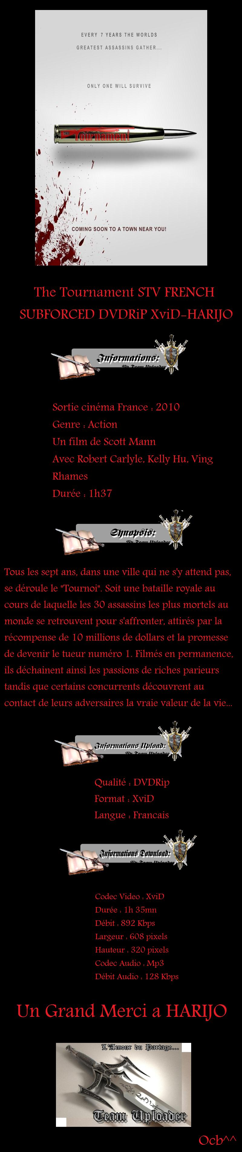 The Tournament DVDRIP FRENCH 2009