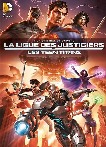 La Ligue des justiciers vs les Teen Titans FRENCH DVDRIP 2016