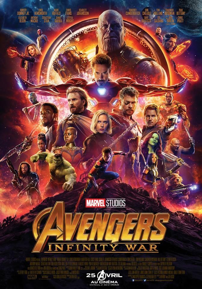 Avengers 3 : Infinity War FRENCH TS 2018