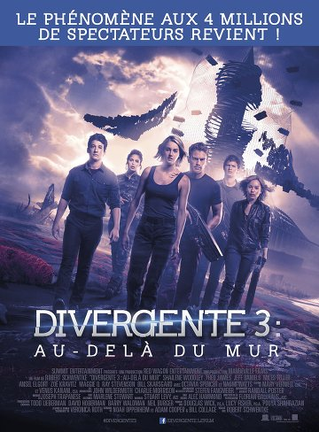 Divergente 3 : au-delà du mur TRUEFRENCH DVDRIP 2016